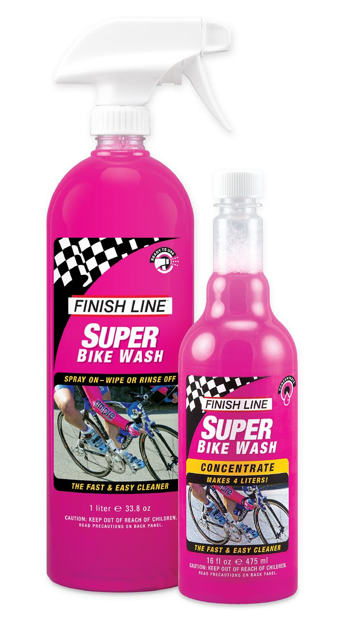 Picture of FINISH LINE SUPER BIKE WASH 1lt SPRAY & CONCENTRATE 475 ML COMBO PACK