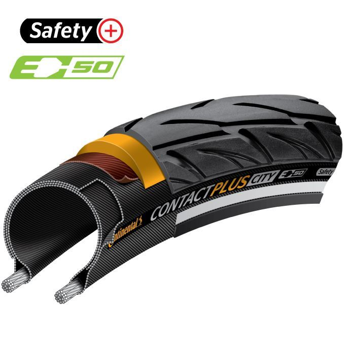 Picture of CONTINENTAL CONTACT PLUS CITY WB 27.5x2.20